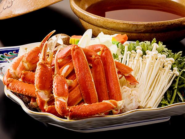 冬のお愉しみ♪蟹すきのあとは、旨味たっぷりの雑炊を