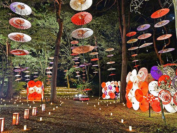 月あかり花回廊(会場:鬼怒川公園)