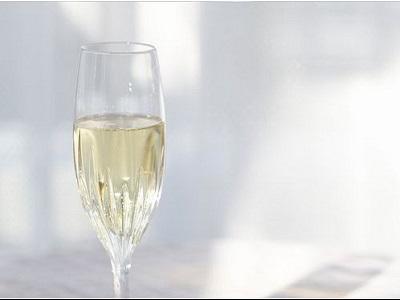 スパークリングワインで乾杯♪
