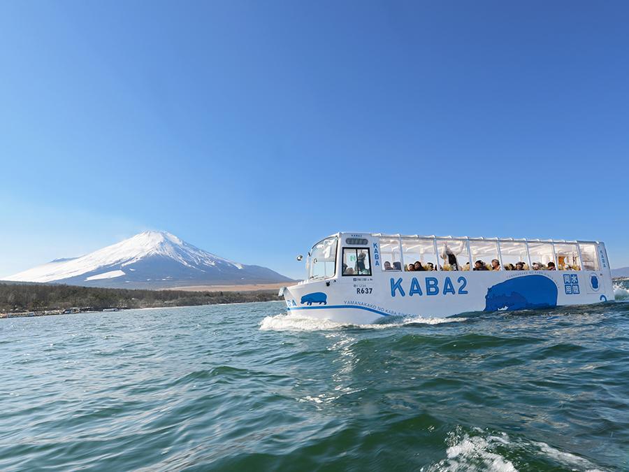 山中湖のKABAバスのチケット付きプラン♪