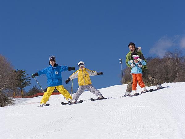 富士山2合目のスキー場、スノータウンイエティ(Yeti)