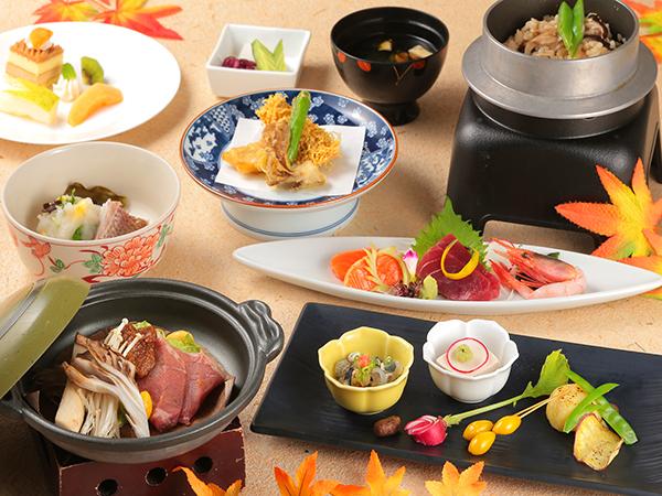 ご夕食は、当館の基本『和食会席』