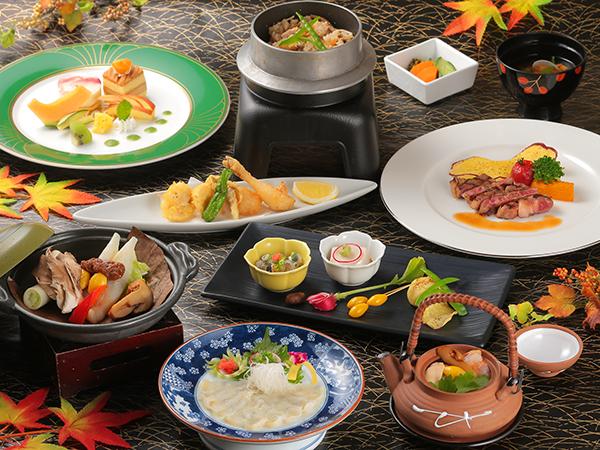 ご夕食は当館最上級『特選料理』(2017秋イメージ)
