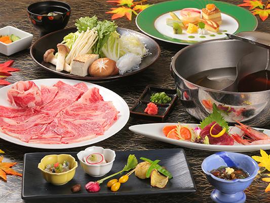 ご夕食は、贅沢A4ランク和牛しゃぶしゃぶ!(写真はイメージです)