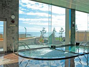 大浴場は昆布湯・ジャグジー・温泉槽・水風呂がございます