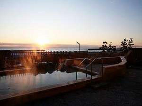 絶景♪秋から冬にかけて露天風呂からの眺め!