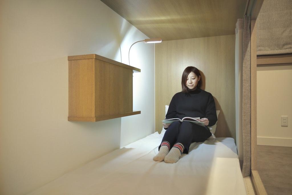 女性専用ドミトリールーム【禁煙】(相部屋)