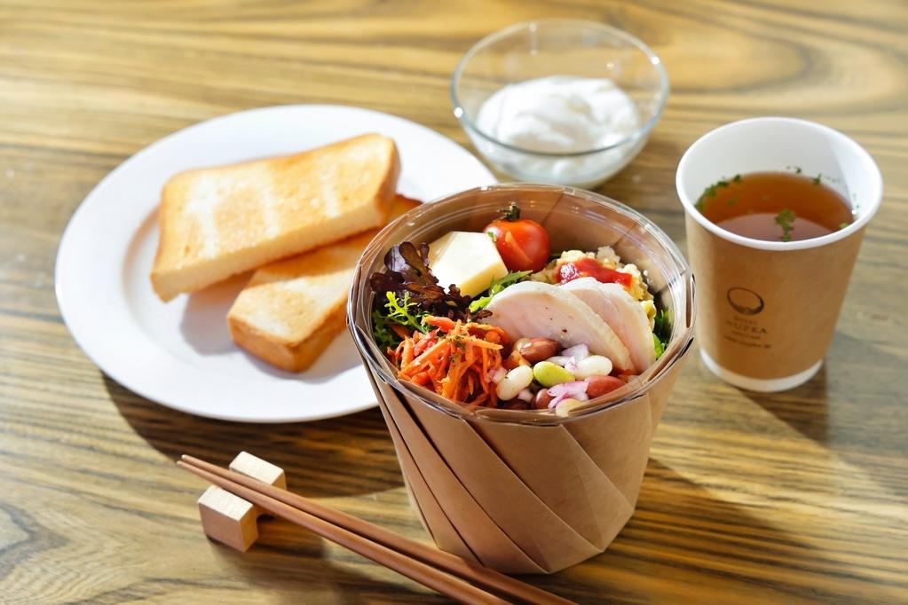 お部屋にお持ちする朝食(イメージ)