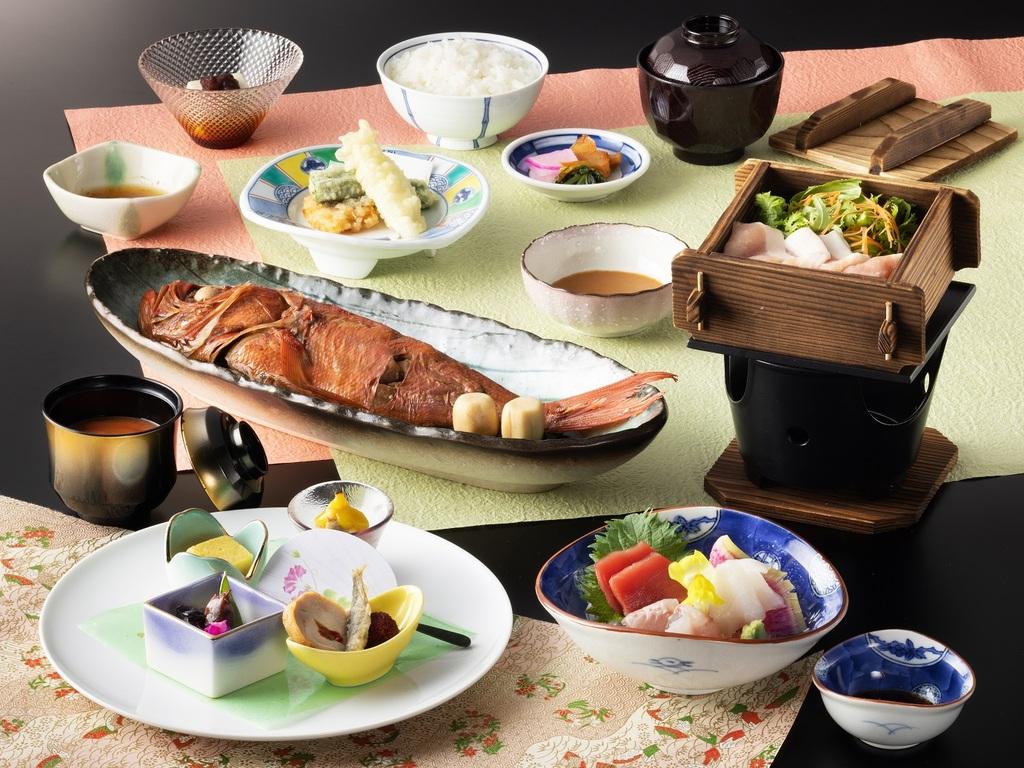 「桜」御膳プラン 夕食一例(2020年9月〜11月)