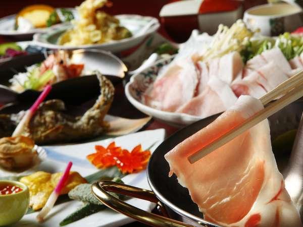 十勝産の豚肉2種類を食べ比べをご堪能ください(2〜3人前)