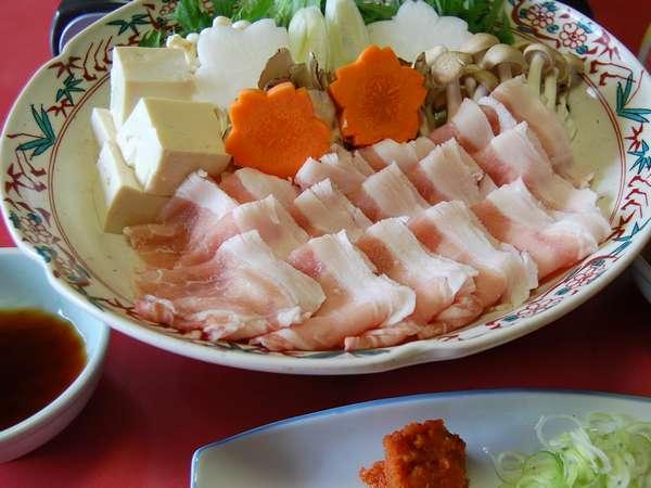 十勝産の豚肉2種類を食べ比べ(2〜3人前)
