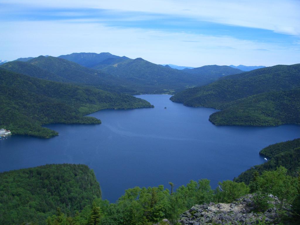 然別湖の夏
