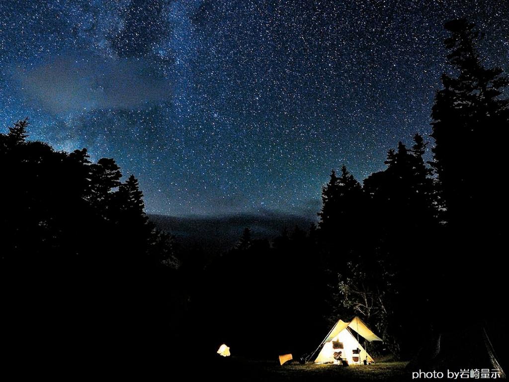 【星空キャンプ】道内で星空に一番近い湖「然別湖」晴れていれば満点の星空が広がり、天の川が見えることも。