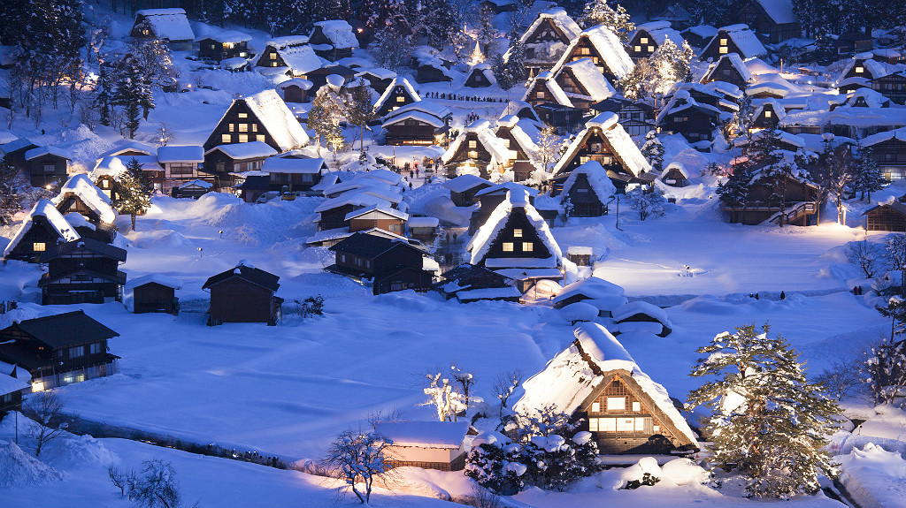 Shirakawago winter time
