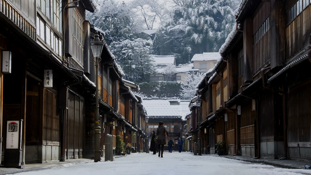 Kanazawa's Geisha Districts in Winter