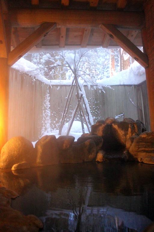 貸切露天風呂(冬)
