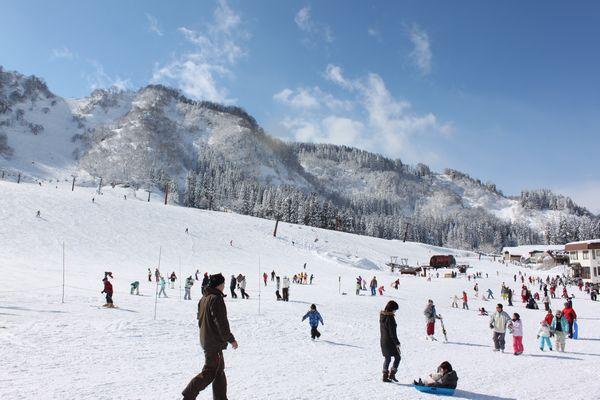 一里野温泉スキー場イメージ