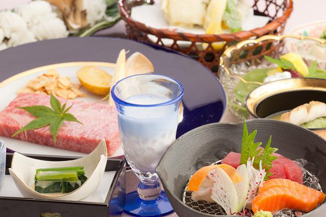 神戸牛ステーキコース(一例)