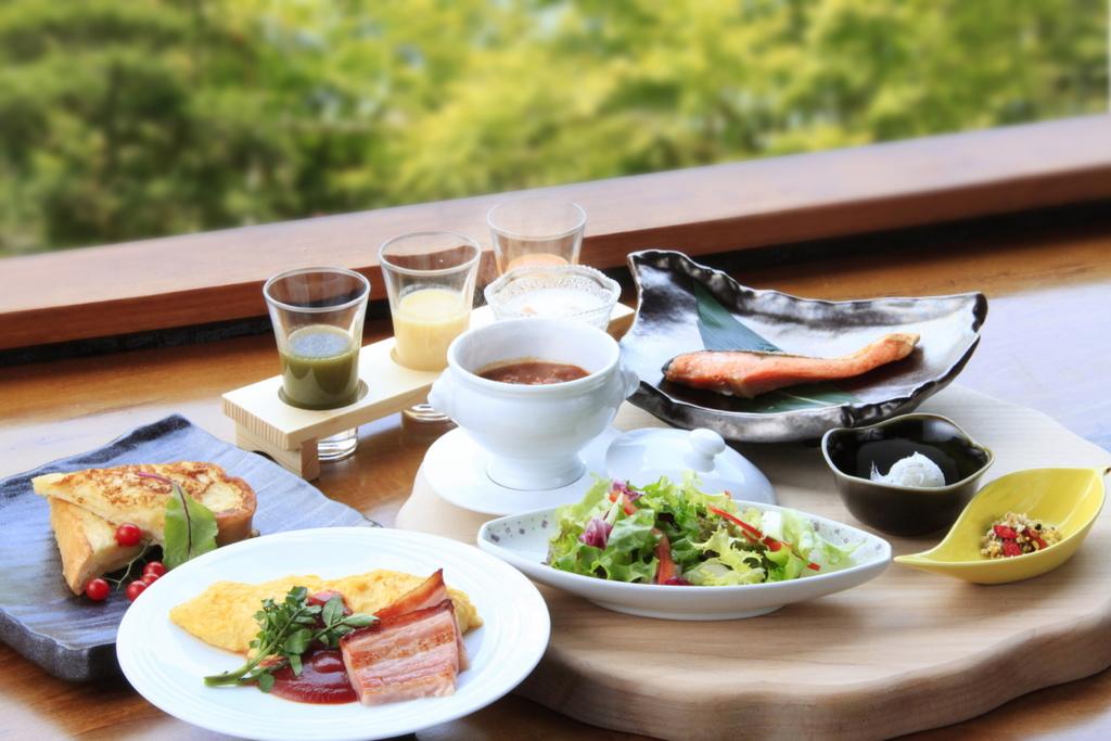 ご朝食は和もしくは洋テイストをお選び頂けます