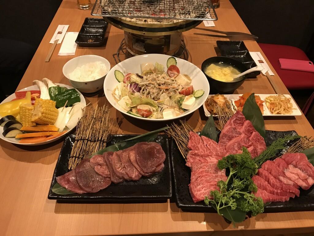 A5ランク熊野牛焼肉コース
