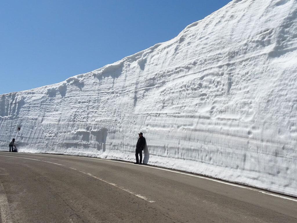 【スノーシュートレッキング】雪の回廊