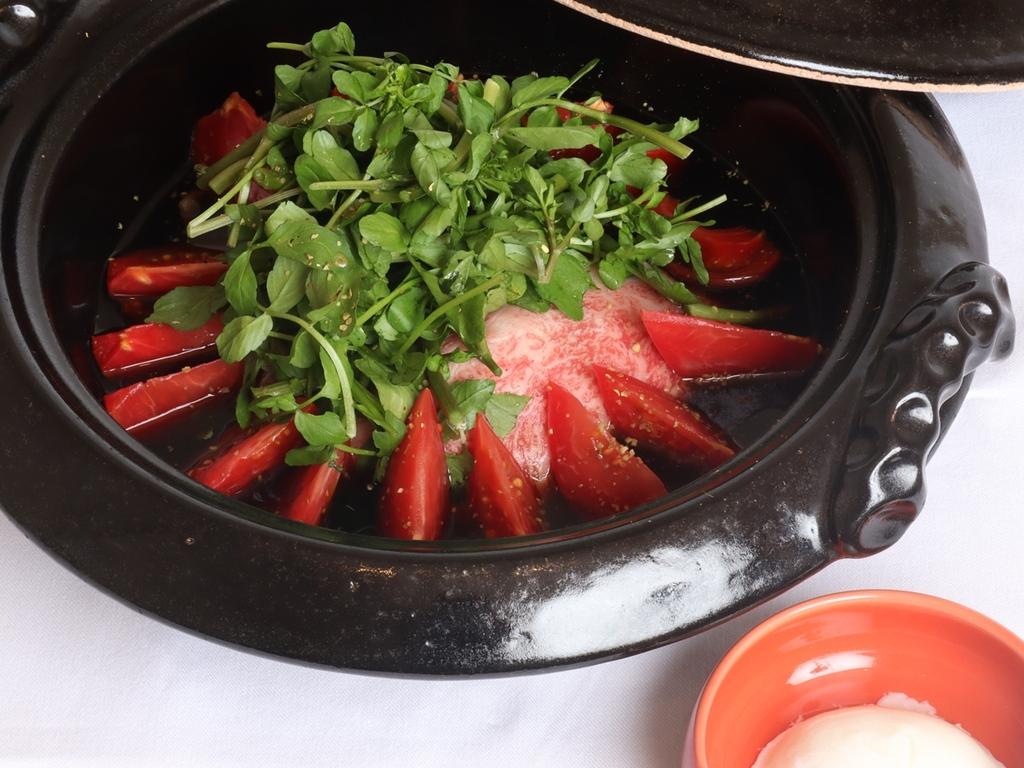 豊後牛トマトすき焼き