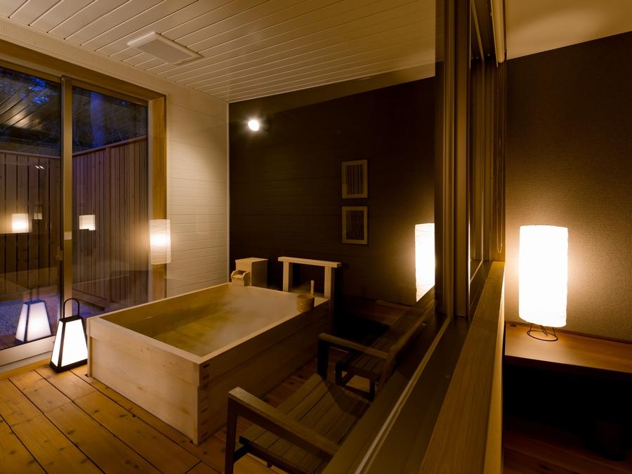 檜風呂付100�u広々スイートルーム