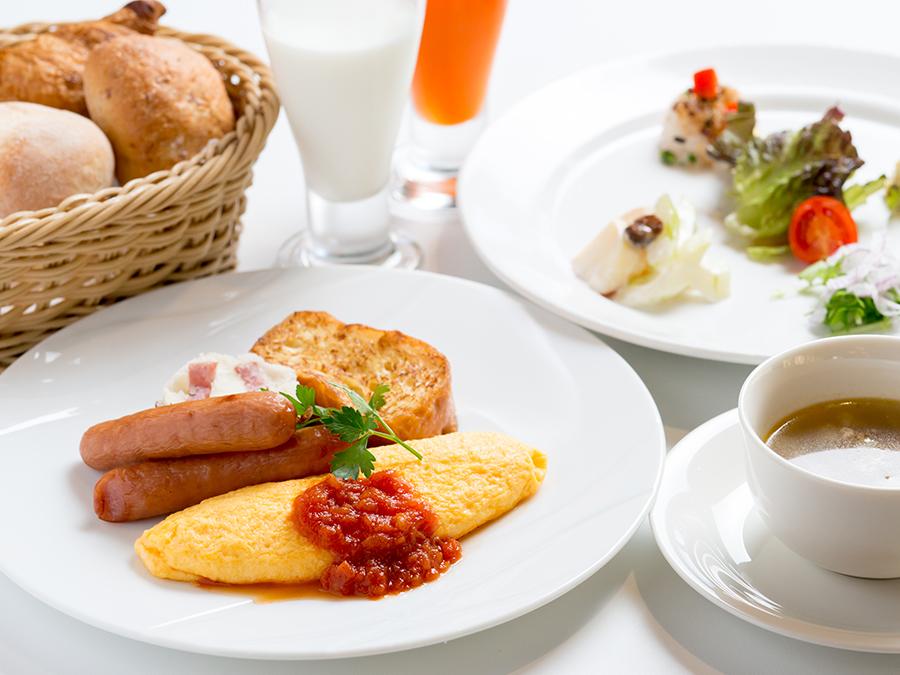 こだわりの八ヶ岳高原洋朝食