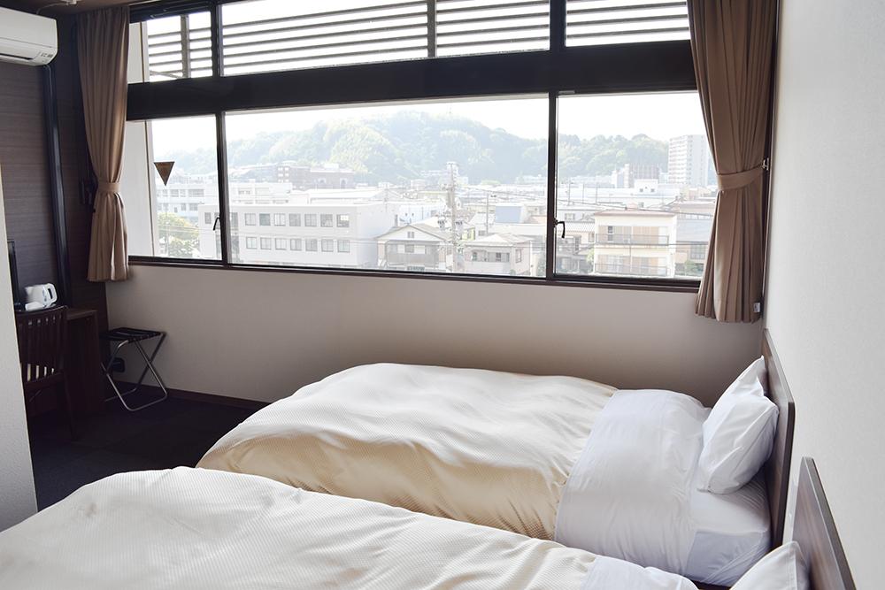 ホテルのベーシックなお部屋です♪