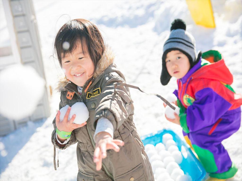 雪遊びはファミリーゲレンデ「Baboon」へ♪