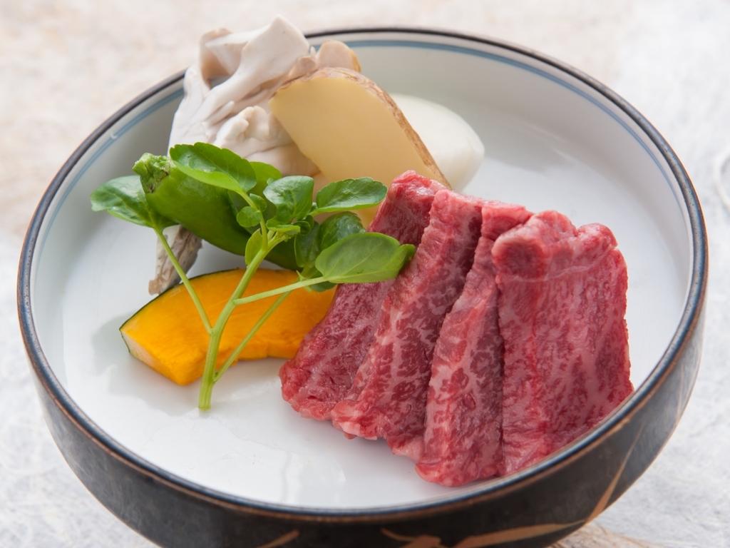 とうや黒毛和牛のステーキ!