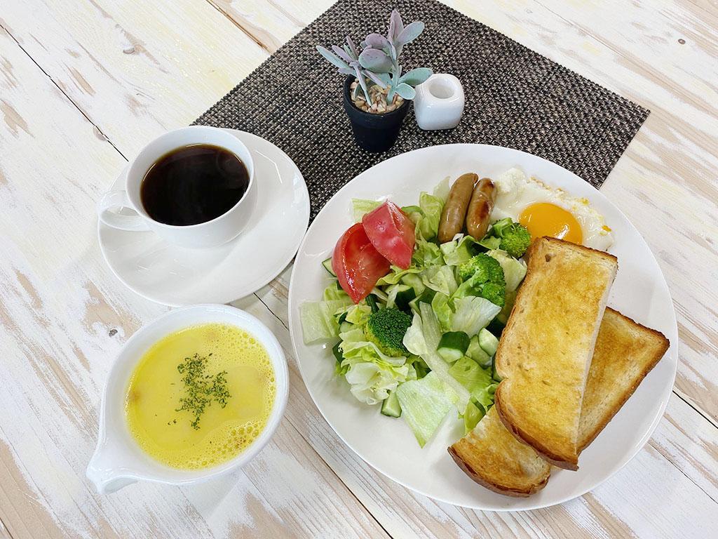 朝食(アメリカンベレックファースト)