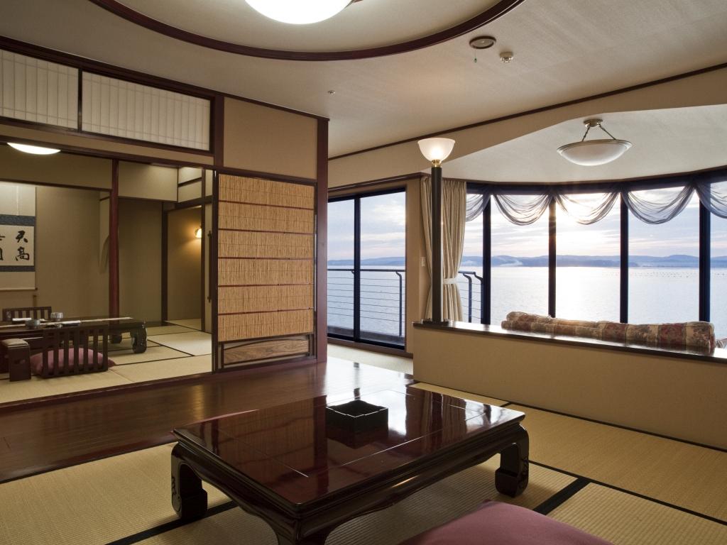 貴賓室・利久2階:海眺望(写真は723号室)