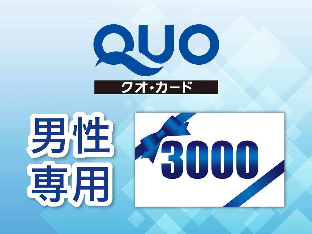 QUOカード3000円分付プラン