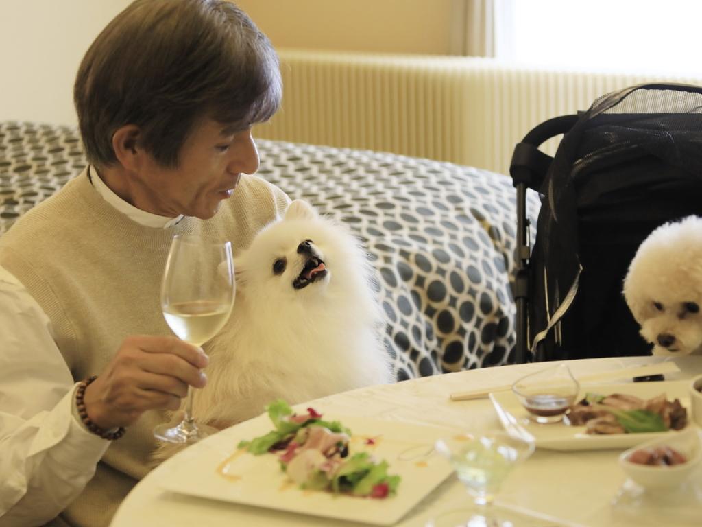 家族だけの空間で落ち着いて食事ができます。