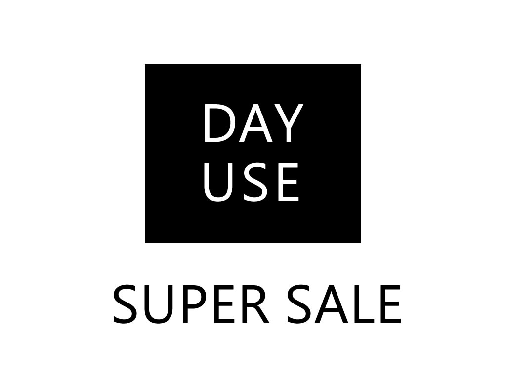 DAY USE SUPERSALE