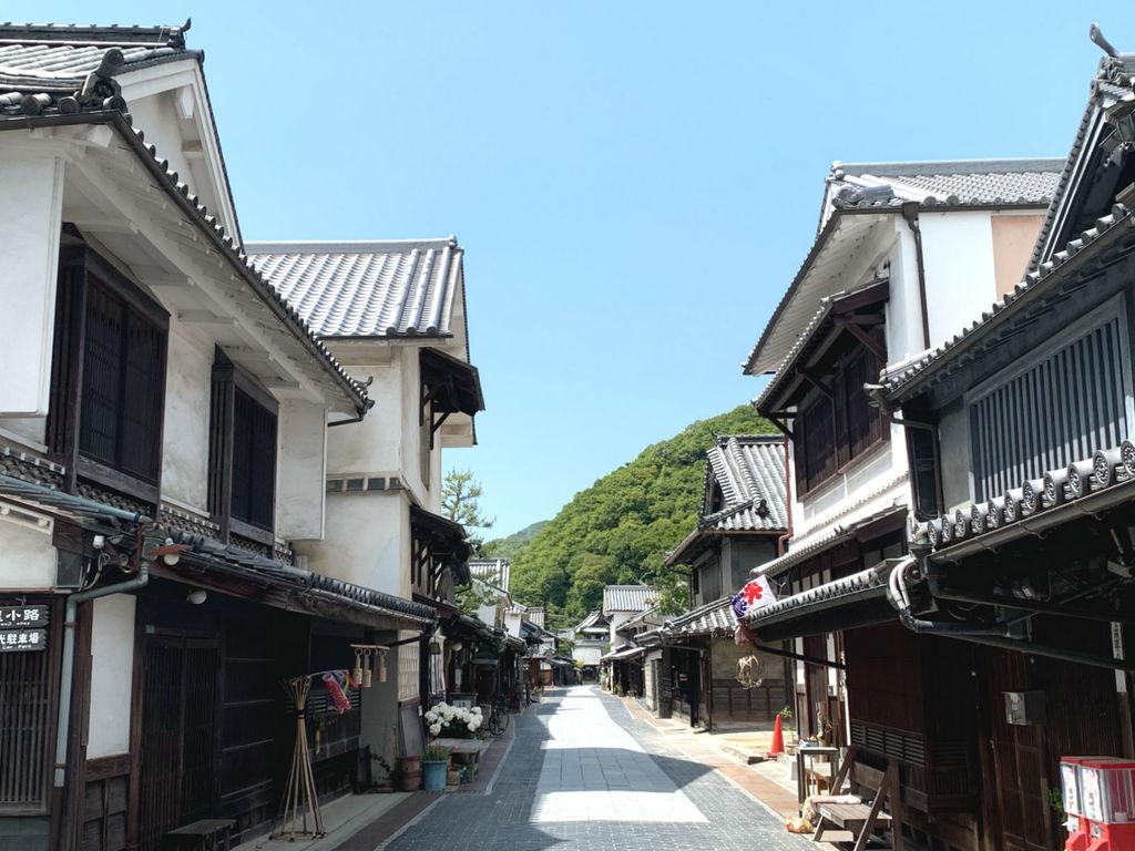 竹原のまちなみは「安芸の小京都」とも呼ばれています。