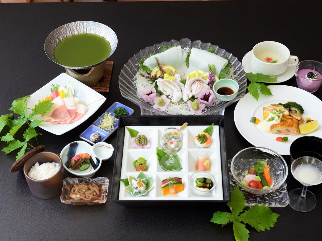 夏の鳥取県食材限定料理