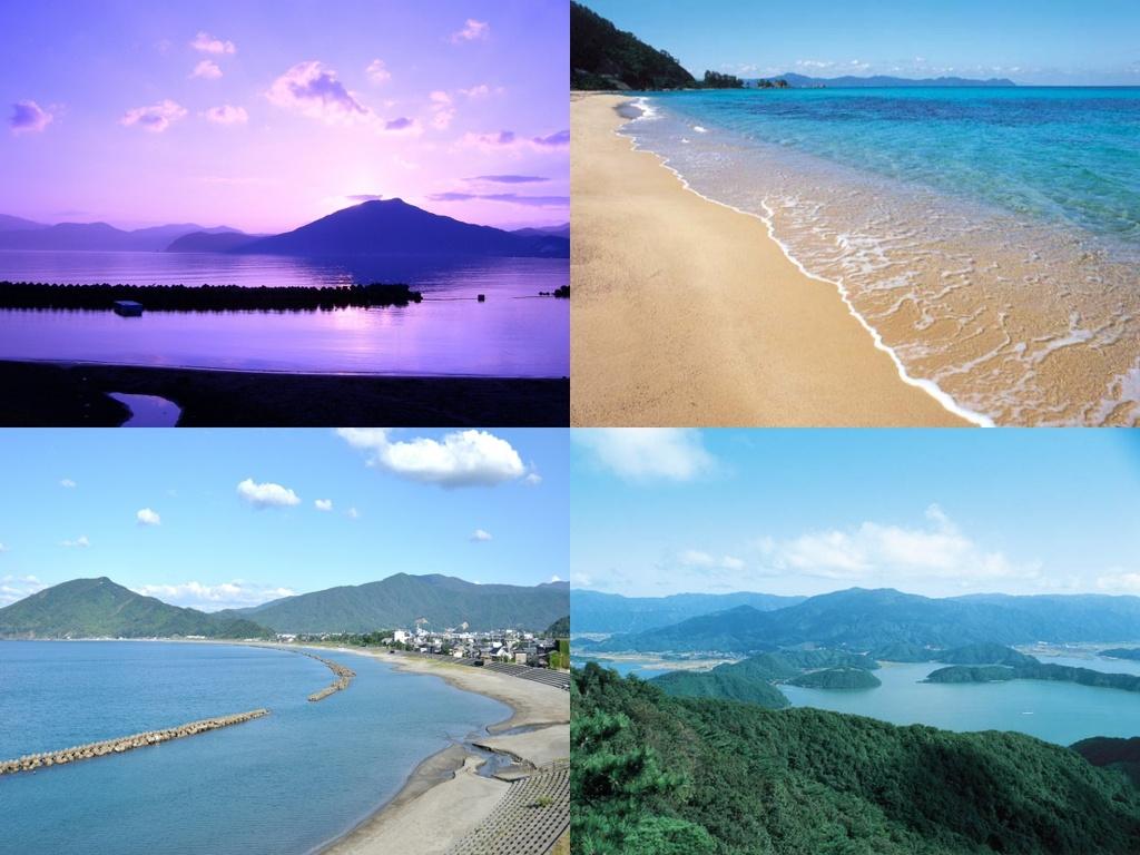 美浜の美しい海