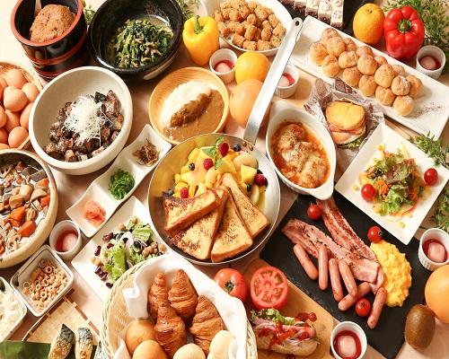 11階『オーク』朝食ビュッフェ