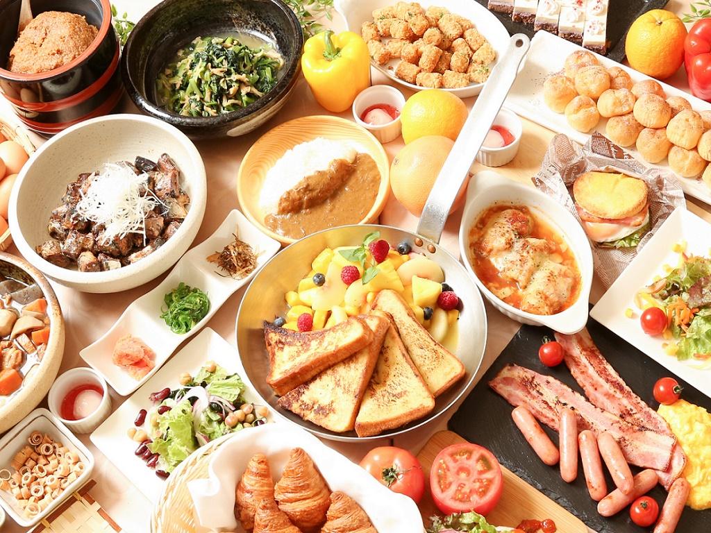 和洋朝食ビュッフェ_レストラン『オーク』