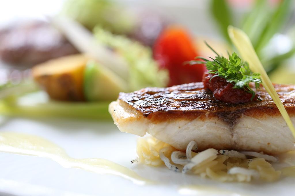 鮮魚のポワレ