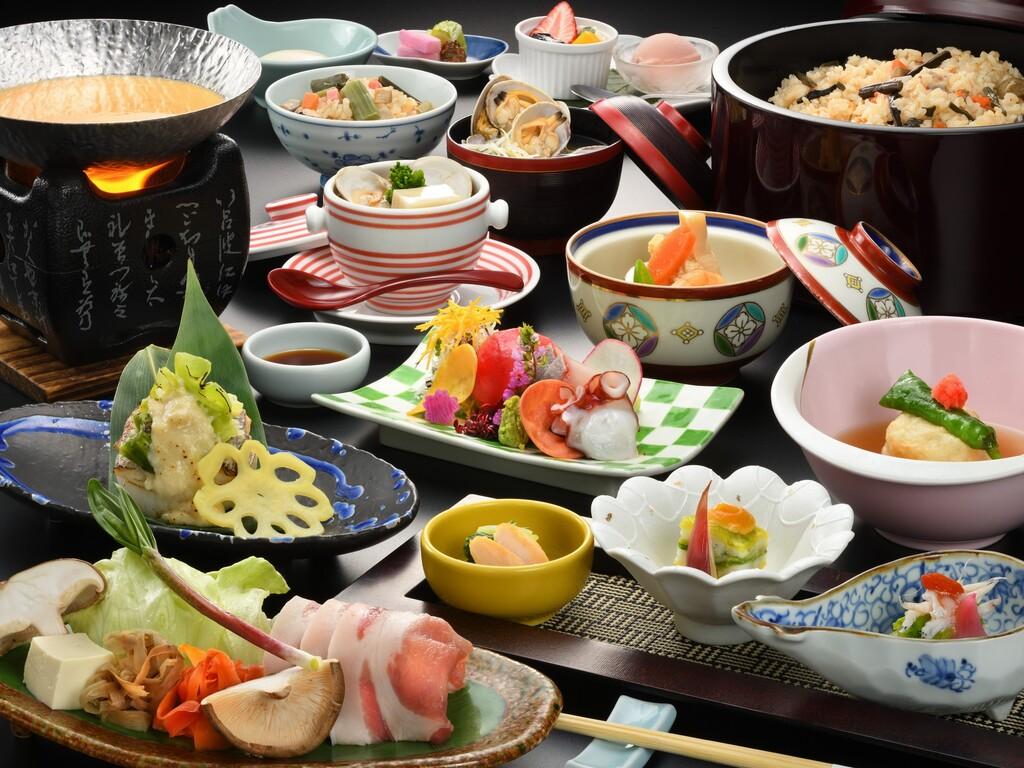 彩華(花巻産白金豚付)リーズナブルお料理コース