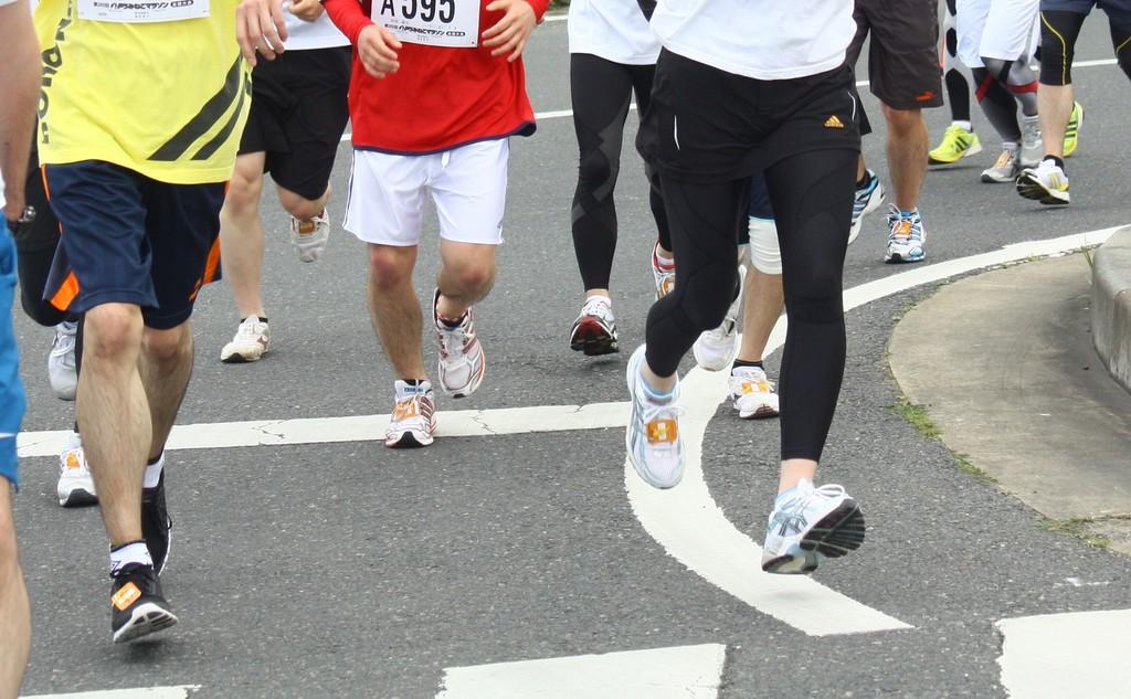 マラソン大会(イメージ)