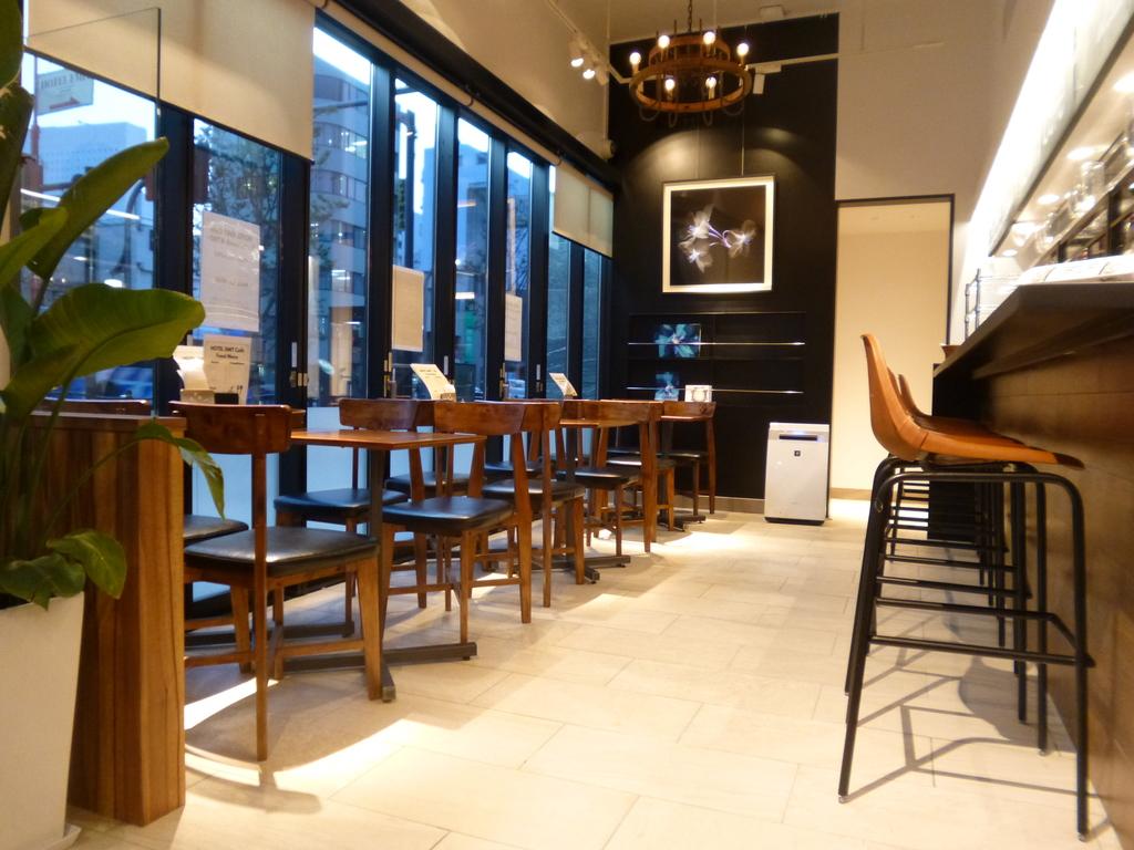 朝食会場の1Fカフェ