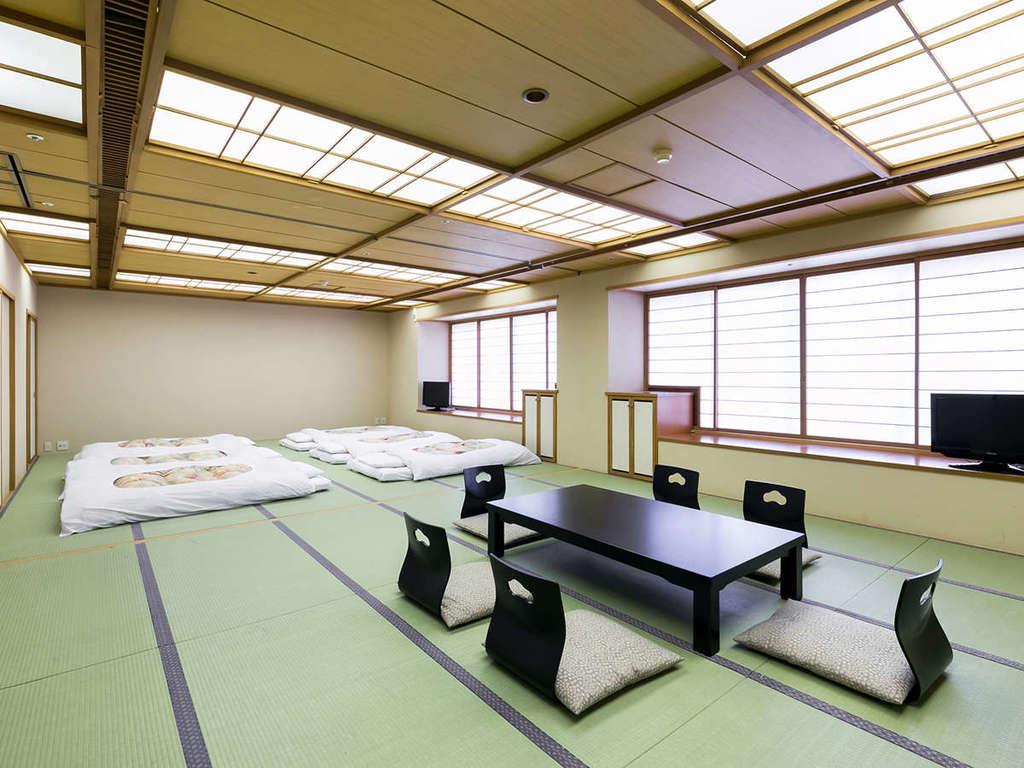 本館アウトバスタイプの和室。