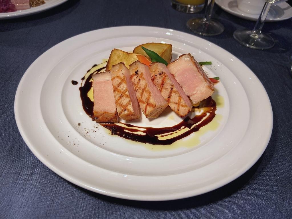 イタリア産ホエー豚 ロースグリル