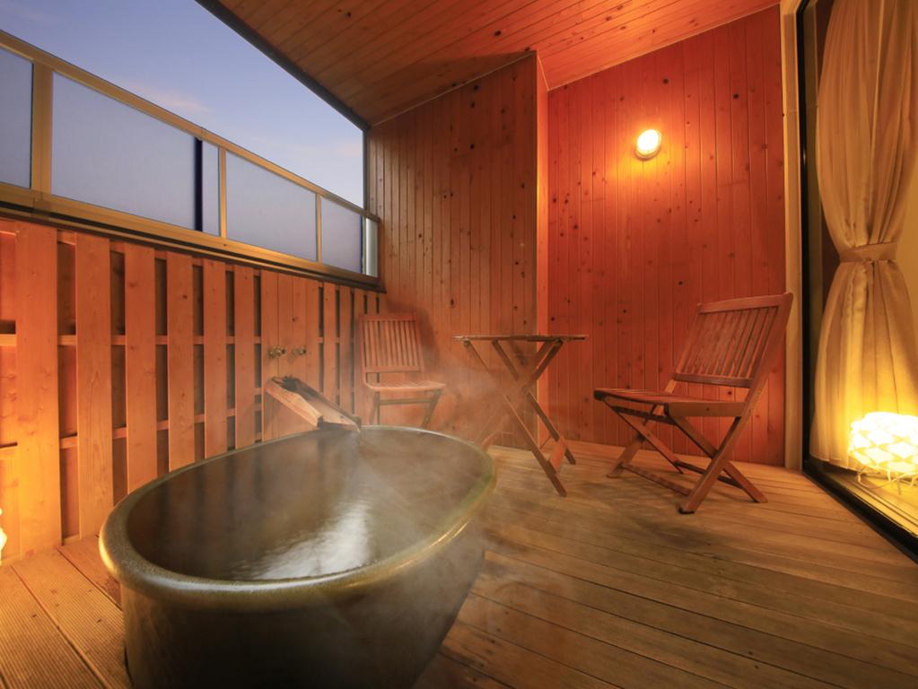 別府八湯の一つ亀川温泉の湯を贅沢に!!