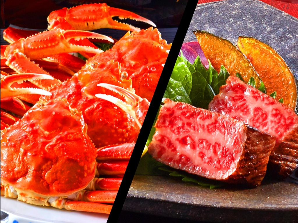 蟹とお肉両方堪能するならコレ!
