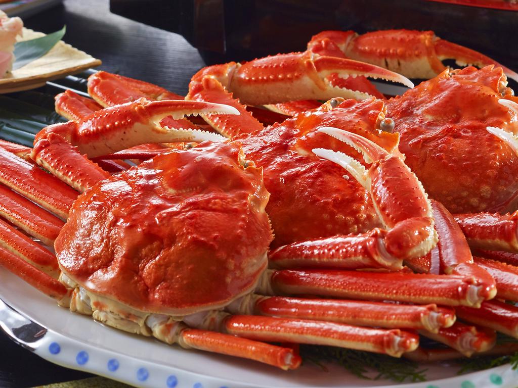 蟹はお一人様★まるごと一杯つきます。※大人のみ